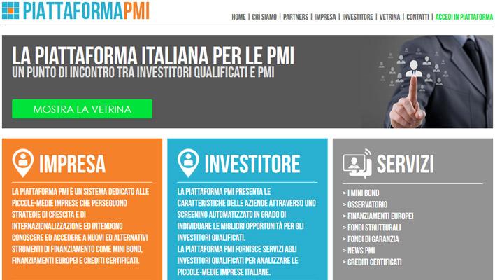 Piattaforma PMI, il punto di incontro tra investitori e PMI
