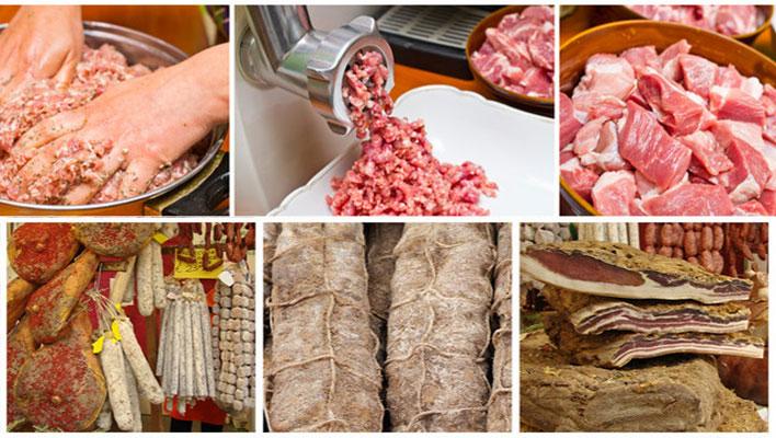 Filiera carne salumi