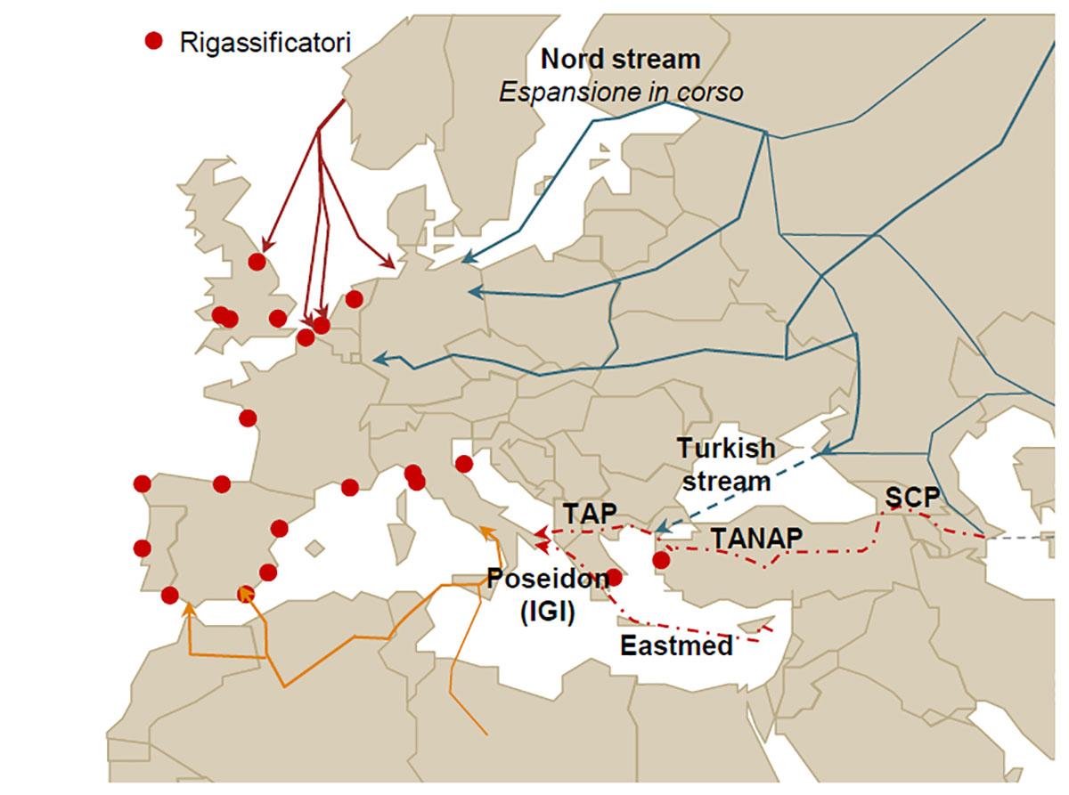 Gas, in Italia più biometano e meno importazioni