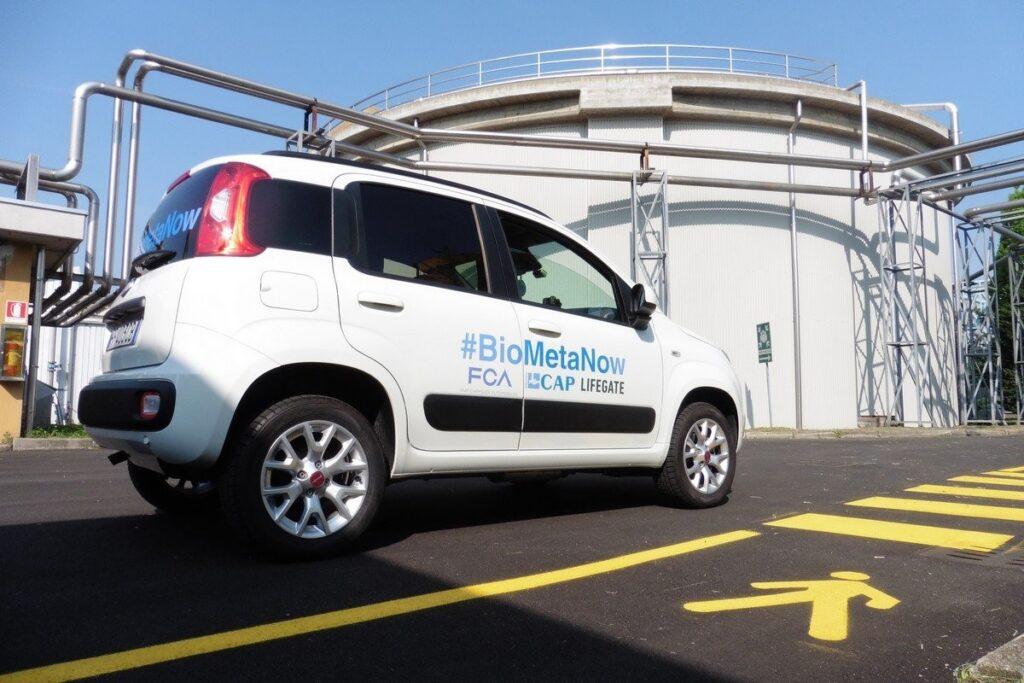 FIAT Panda a biometano, l'auto dell'economia circolare