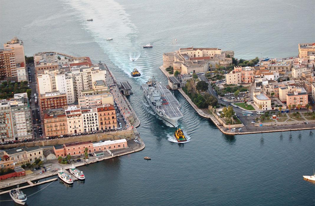 17,7 milioni per il CIS di Taranto