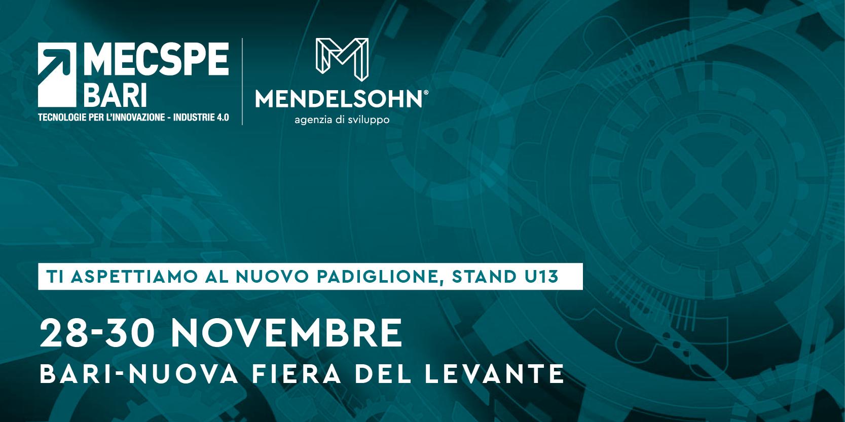 Mendelsohn a Mecspe Bari 2019